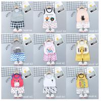 Kaos Singlet Bayi Anak / Setelan Baju Bayi / Baju Kutung Bayi