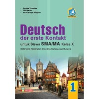 BUKU BAHASA JERMAN SMA/MA KELAS X PEM KUR. 13 REVISI