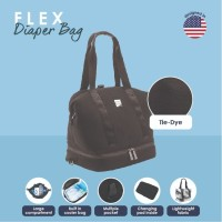 Baby K'tan Flex Diaper Bag - Black Mesh