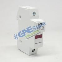 GAE Cylindrical Fuse Base 1P dengan LED
