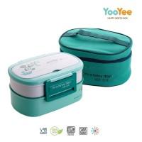 Kotak Makan Yooyee 591 (kotak makan + tas)