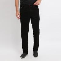 Edwin Celana Jeans 305-CDR-Black Reguler Fit Pria Panjang Hitam