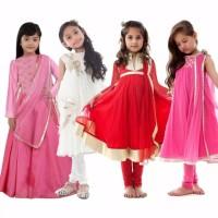 Kostum Anak Sare India Baju anak model India uk 2-13 thn