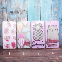 SoftCase / Case Fashion Gliter Water For OPPO F7