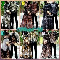 Sarimbit Couple / Batik Couple / Bctik Couple Baju Pesta Sarimbit bati
