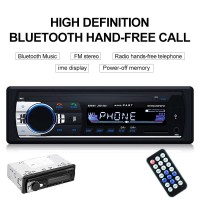 TAPE MOBIL SINGLE DIN JSD-520 CAR MP3 RADIO FM BLUETOOTH USB SD AUX