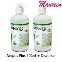 Aseptic Plus Gel 500 ml Dispenser Onemed Antiseptic Hand Sanitizer