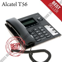 Telepon Single Line Alcatel T56 - HITAM