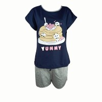 Young Curves CW Cotton C01-S00786DBL - Dark Blue