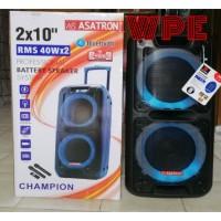speaker portable meeting asatron champion 2x10 inch