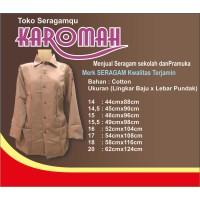 Baju Pramuka Pembina Panjang Perempuan (Rp.72.000-Rp.103.000)