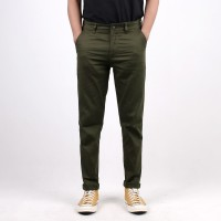"Chino ""Tree"" Green Army - Selvedge Accent"