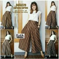 Celana Batik Wanita Kulot Palazzo Parang