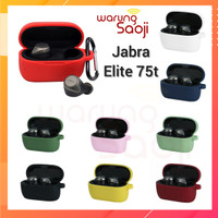 Casing Jabra Elite Active 75t Case Cover Pouch Silicone + carabiner