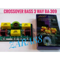 Crossover bass 3 way BA 309