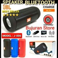 Speaker Bluetooth JBL J006 , PORTABLE WIRELESS MINI CHARGER MINI J-006