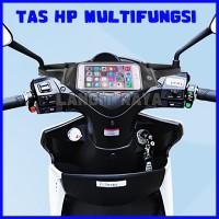 Holder HP Motor Spion Waterproof Tas ikat Pinggang Handphone Anti Air