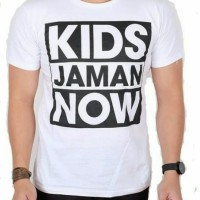 T-shirt kaos big size 2XL 3XL 4XL KIDS JAMAN NOW
