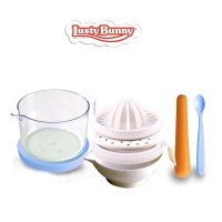 Lusty Bunny Food Maker Set Perlengkapan makan Bayi LB-1360