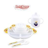 LustyBunny Tempat Makan Bayi Feeding Set Package 6 Pcs