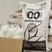 [CURAH] SRIBOGA DOUBLE ZERO Tepung Terigu Super Premium 1 Kg