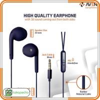 Headset AVEN N19 MACARON Earphone MACAROON Handsfree Hedset Earbud