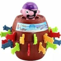 Jumping pirates besar 24 kunci Pirate barrel roulette family game