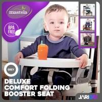 MASTELA FOLDING BOOSTER ORI BPA FREE, Kursi MPASI Bayi Portable