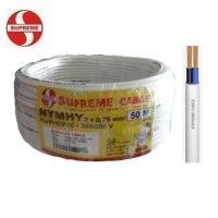 SUPREME Kabel Listrik Serabut NYMHY 2x0,75 per Meter