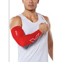 2XU Running Training BASKET Compresssion Flex Arm Sleeve RED SIZE S