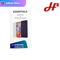 Silikon Case / Jelly Case & Anti Gores Samsung Galaxy A11 ORIGINAL