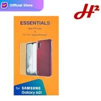 Silikon Case / Jelly Case & Anti Gores Samsung Galaxy A01 ORIGINAL