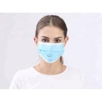 Masker Mulut MERK Face mask trasti Mask 2-Ply Earloop Surgical Face Ma