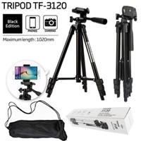 TRIPOD HP Kamera 3110 / 3120 - Bonus Premium Sarung + Holder Universal