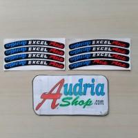 Sticker Motor Cutting Stiker Velg Takasago Excel Asia Thailook 2 set
