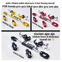 AKSESORIS-VARIASI PAKET4 MOTOR HONDA PCX-PCX ABS-JALU BANDUL STANG DLL