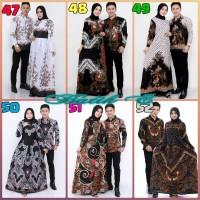 Gamis Sarimbit Couple Batik Murah Banget Berkualitas / baju couple