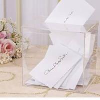 akrilik kotak wedding angpao box wadah perhiasan beauty case aksesoris