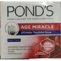 Ponds age miracle night cream 10 gr..promo beli 1 gratis 1