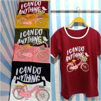 T shirt girl/ kaos anak cewek/ kaos kekinian/ atasan santai/ baju girl