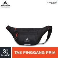 Eiger Gradient L 1F Waist Bag - Black 3L