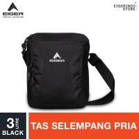 Eiger Shoulder Bag Simple Medium 2F - Black 3L