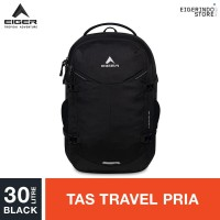 Eiger X-Cyprus 30 Travel Backpack - Black 30L