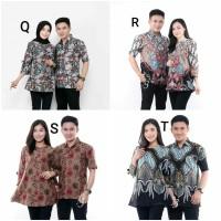 cauple remaja batik pasangan sarimbit baju pria wanita br 1