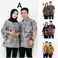couple batik pasangan baju pria wanita termurah batik cauple