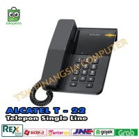 Alcatel T22 / T 22 - Telepon - Telp - Telephone Single Line Analog