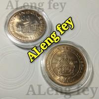 uang kuno koin 100 Rupiah Tipis Wayang tahun 1978