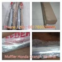 Knalpot Muffler Ori Federal Honda Astrea Grand Bulus Legenda Immpresa