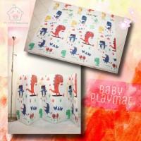 Playmat Baby Lipat (Bs Pilih Motif) 180x200 ~ matras bayi ~ alas main