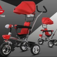 Sepeda Anak Roda 3 baby stroller Tricycle Rotor BMX Aviator AT-7702